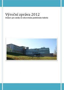 Icon of Výroční zpráva 2012