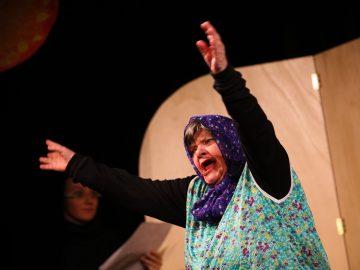 Vystoupení našich herců v Divadle Bez Hranic