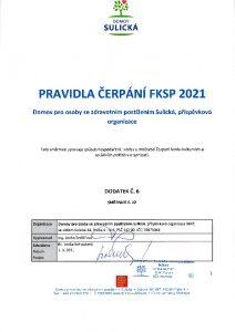 Icon of Pravidla čerpání FKSP 2021